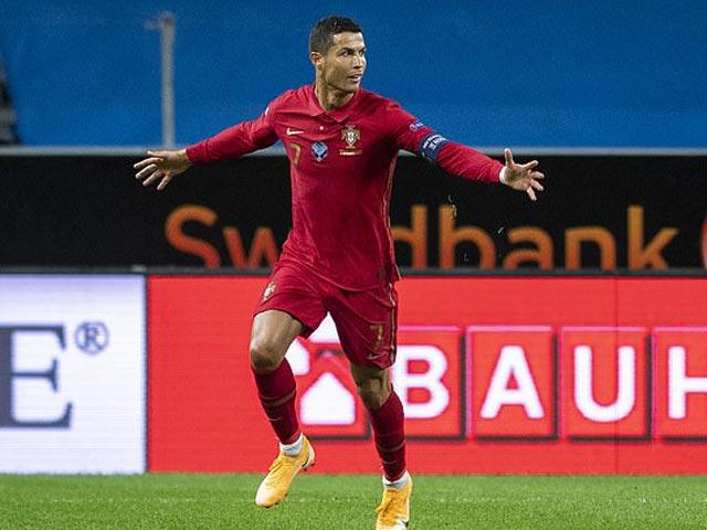 Ronaldo vượt cột mốc lịch sử 100 bàn thắng : Chỉ đứng sau huyền thoại Ali Daei
