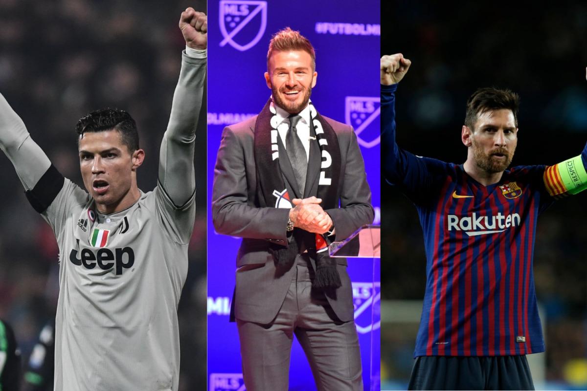David Beckham tiết lộ sự quan tâm dành cho Messi và Ronaldo