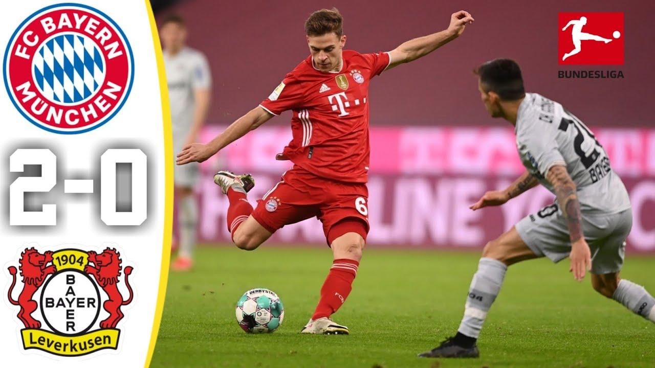 Bayern Munich 2-0 Bayer Leverkusen: Hùm Xám chạm một tay vào danh hiệu Bundesliga thứ 9 liên tiếp