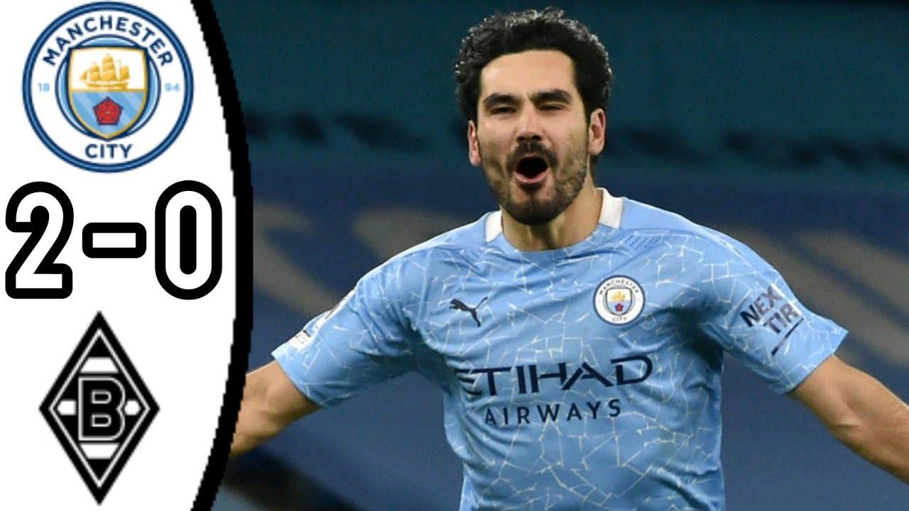 Man City 2-0 Gladbach: Man City tiến vào vòng tứ kết Champions League