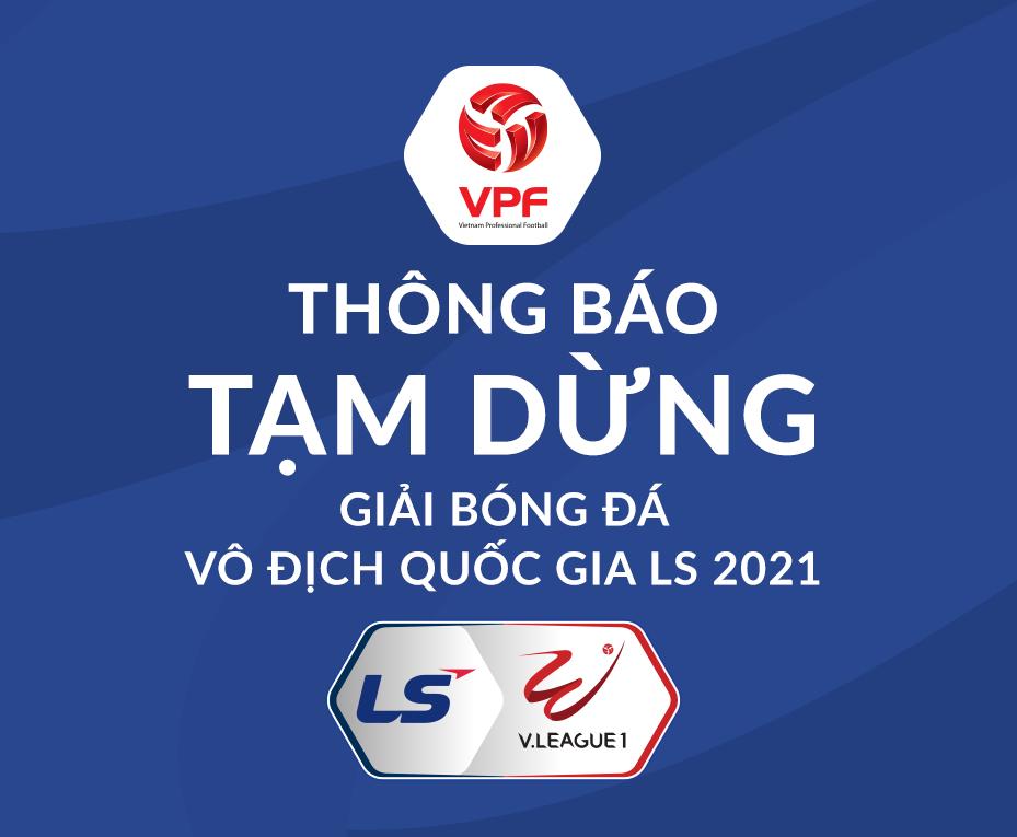 Hoãn V-League 2021 từ vòng 4 vì Covid-19