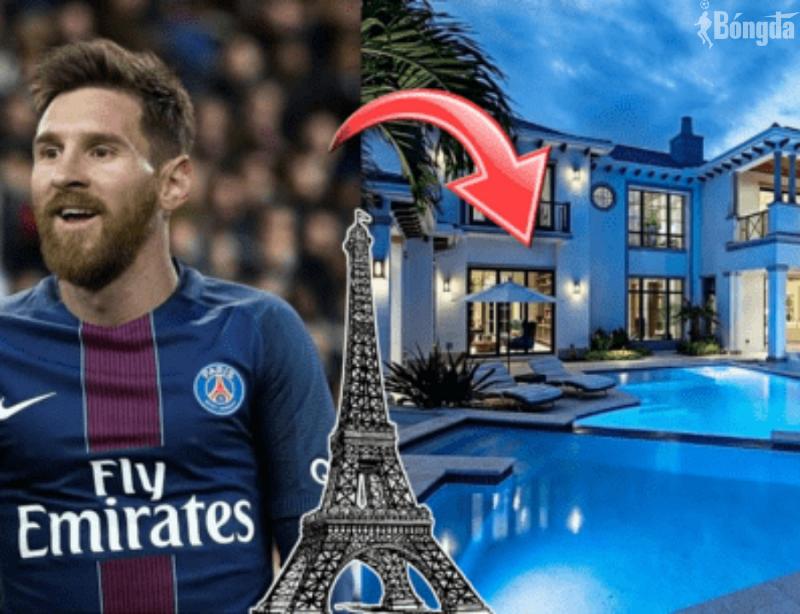 Nhà triệu đô của Messi ở Pháp sang trọng không khác gì ở Barca