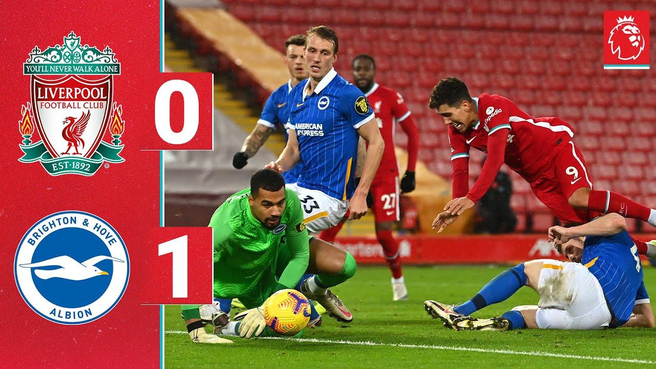 Alzate giành được chiến thắng đáng nhớ cho Brighton trên sân Anfield