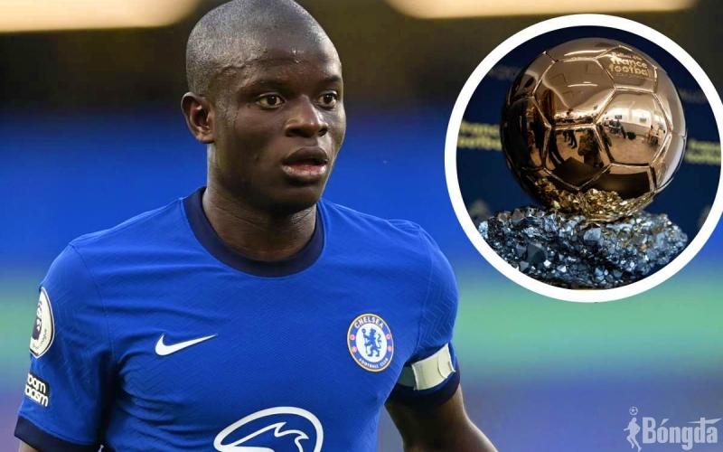 Sau thành công vang dội cùng Chelsea, Kante xứng đáng có Quả bóng Vàng đầu tiên