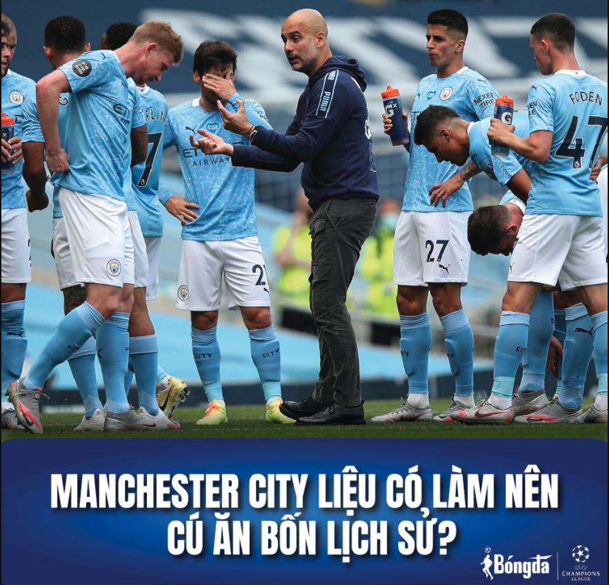 Manchester City liệu có làm nên cú ăn bốn lịch sử?