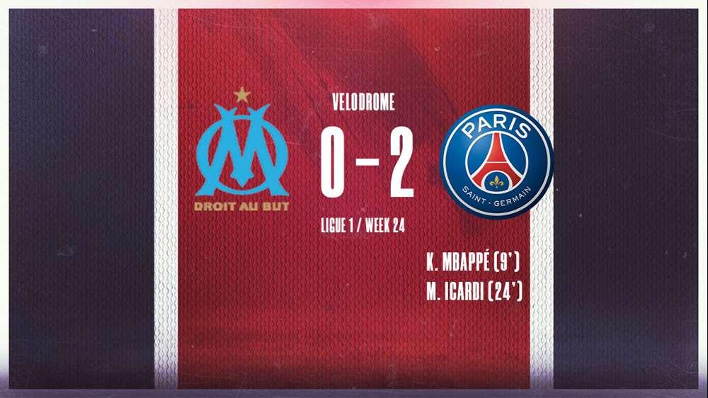 PSG hạ gục Marseille với tỷ số 2-0