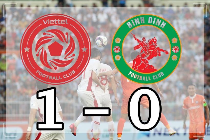 Viettel FC 0-1 Bình Định: Ngã mũ trước siêu phẩm