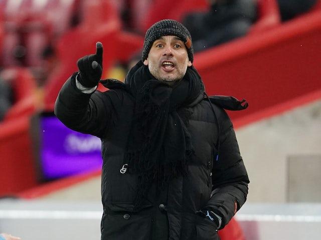 """HLV Pep Guardiola: """"Chúng tôi phải cải thiện trước khung thành"""""""