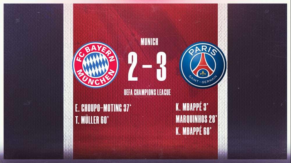 PSG giành chiến thắng 3-2 trước Bayern Munich