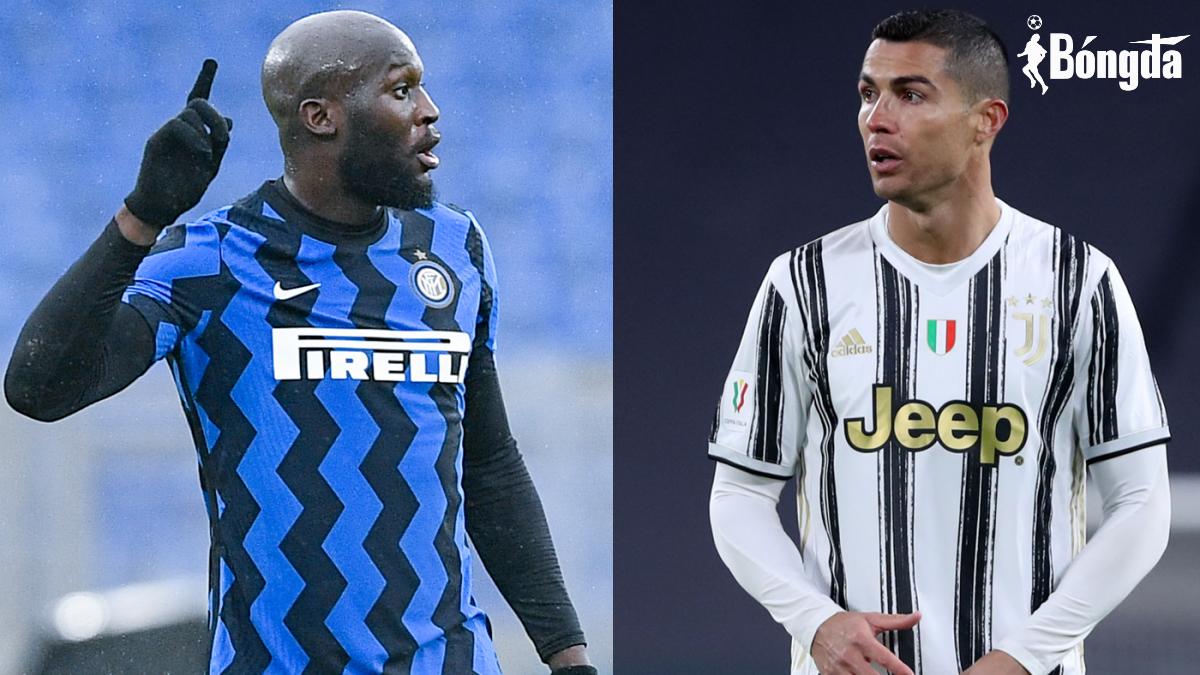 Sau sự ra đi của Lukaku và Ronaldo, Inter và Juve đồng đẳng cấp tại Serie A
