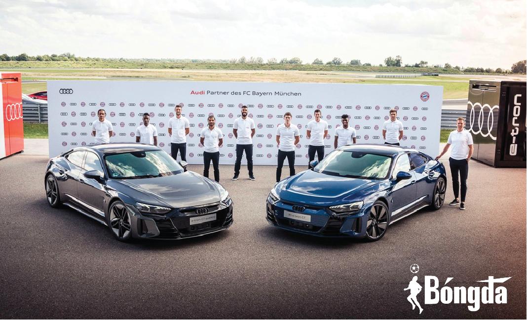 Lewandowski và dàn sao Bayern Munich nhận 15 chiếc Audi e-tron GT