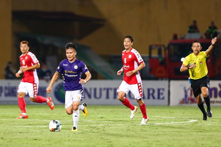 """HLV Chung Hae-seong ra sức bảo vệ các học trò sau trận thua """"muối mặt"""" trước Hà Nội FC"""