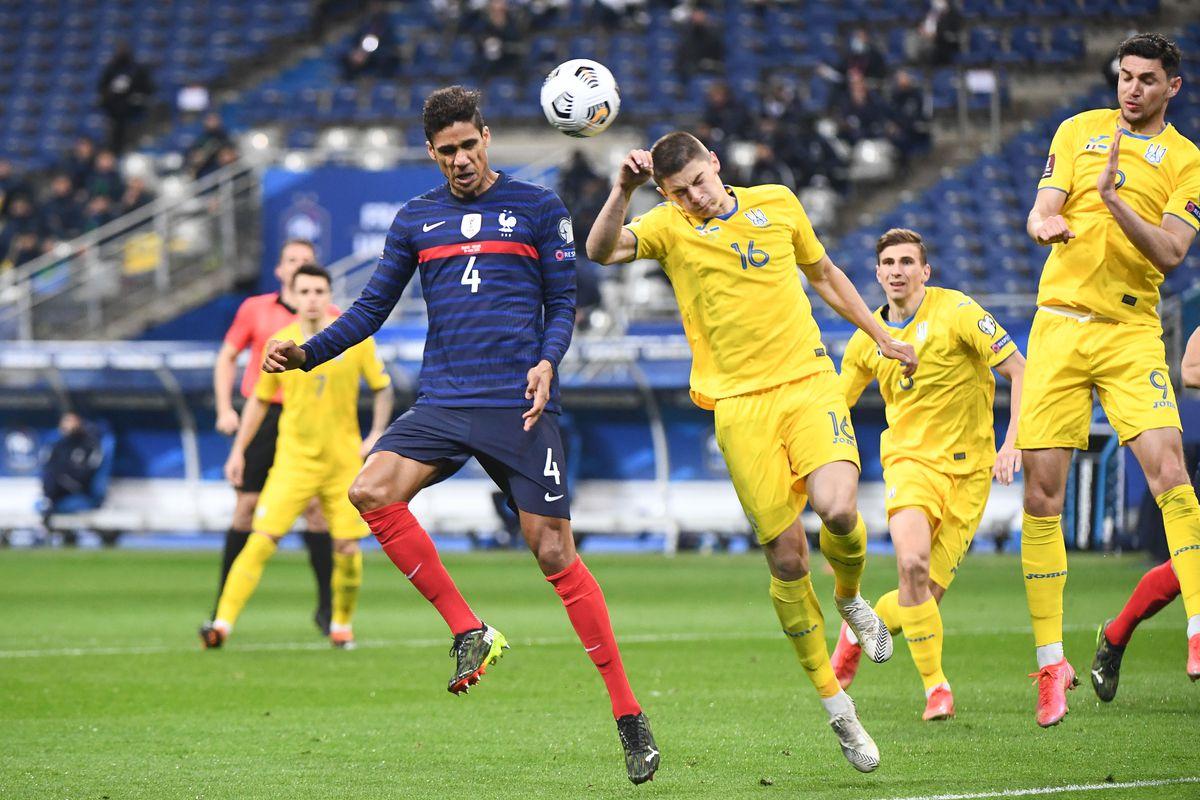 Pháp bị Ukraine cầm hoà tại vòng loại World Cup 2022