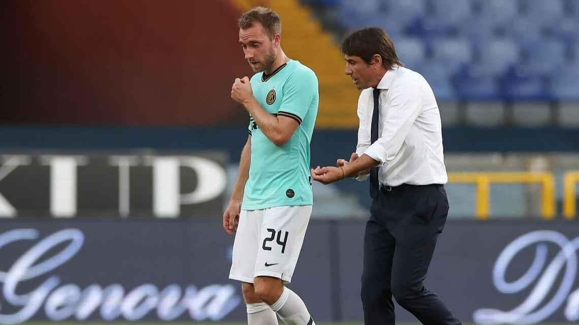 Gặp rắc rối với Conte, Eriksen rời Inter tới PSG