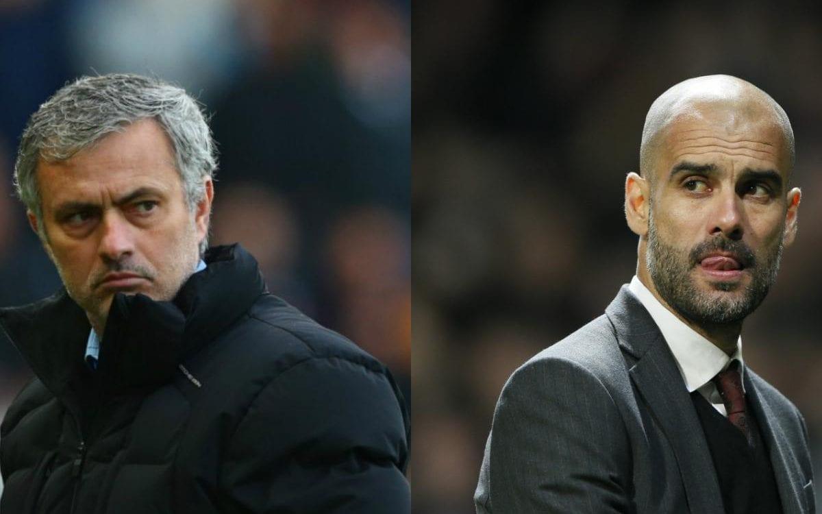 Mourinho và Pep Guardiola đúng là đối thủ truyền kiếp trên mọi mặt trận (Ảnh: Internet)