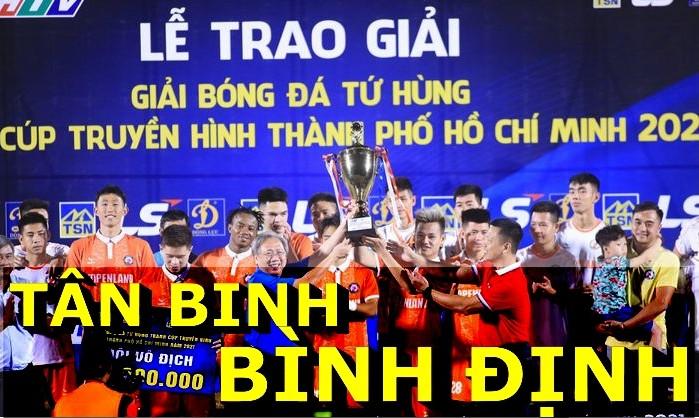 Tân binh Bình Định vượt mặt 3 ông lớn đoạt chức vô địch Tứ Hùng