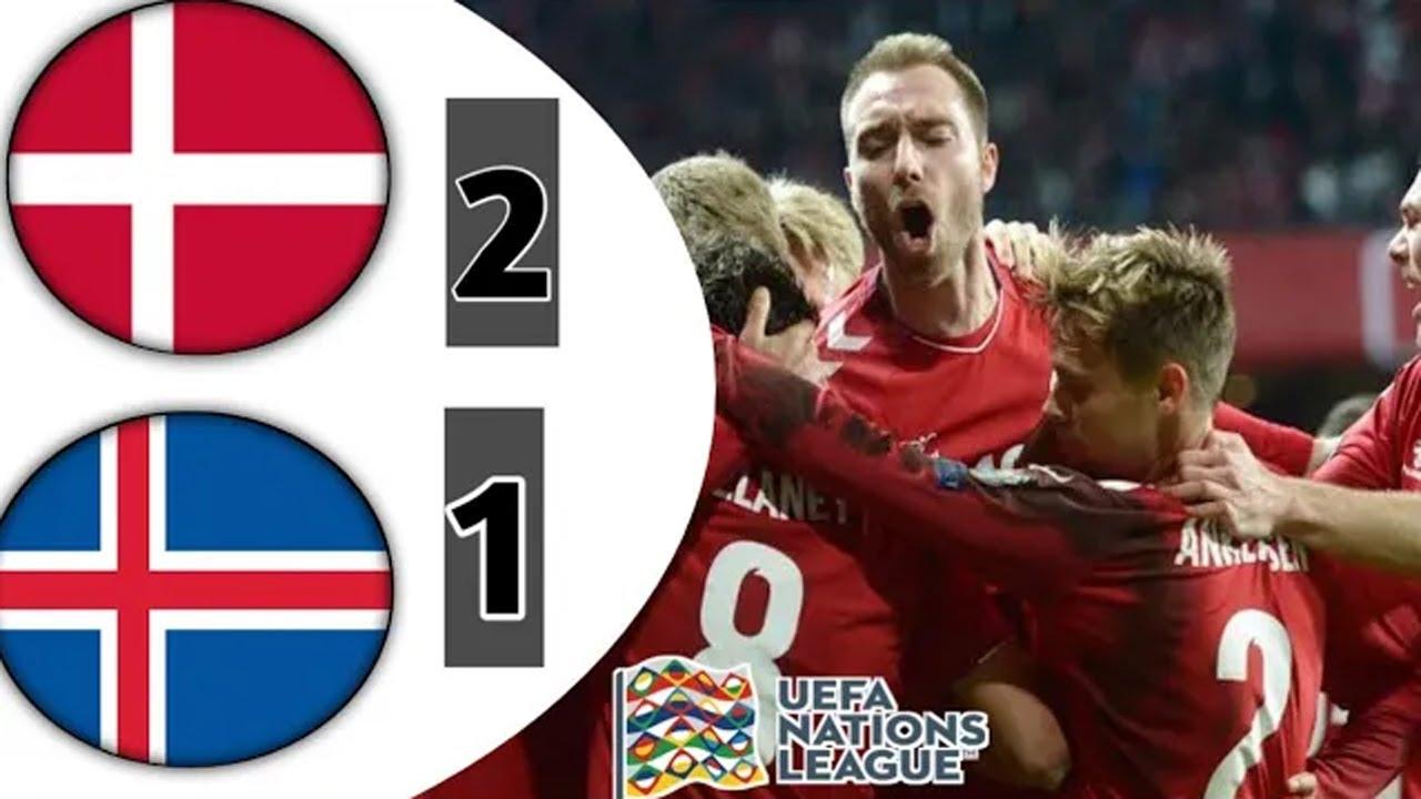 Đan Mạch hạ gục Iceland tại Nations League với cú đúp của Eriksen