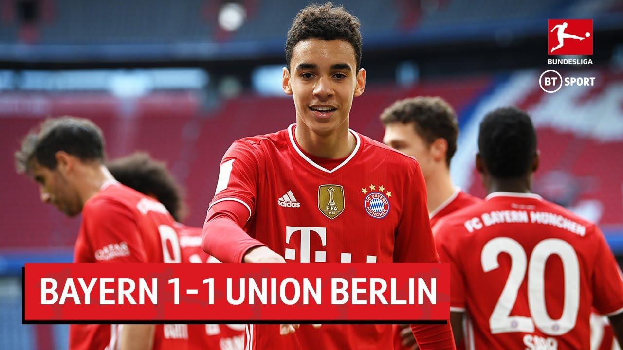 Union Berlin 1-1 Bayern Munich: Bị cầm hoà tại Bundesliga, Nhà Vua lung lay trước tứ kết lượt về Champions League