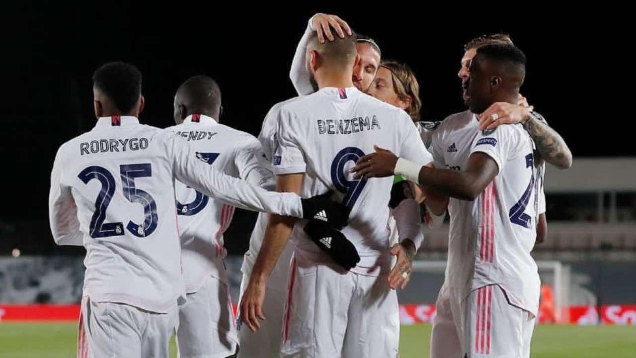 Real Madrid giành vé vào vòng 16 đội với tư cách người chiến thắng
