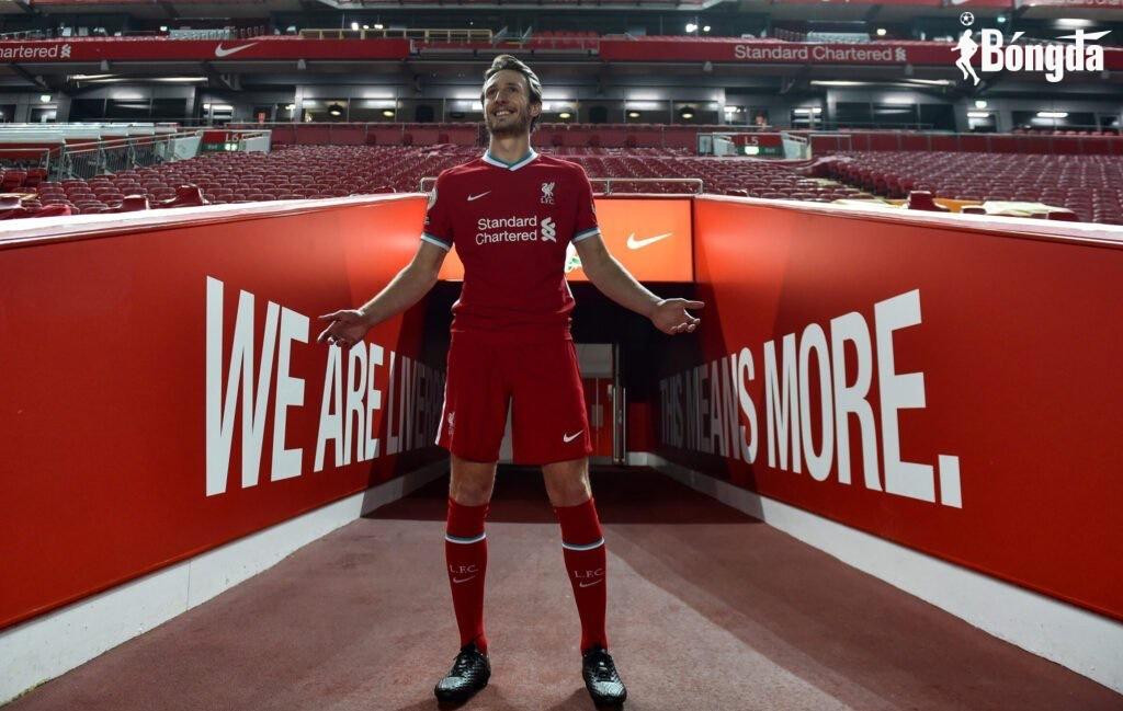 Không được Klopp trọng dụng, Ben Davies chính thức rời Liverpool