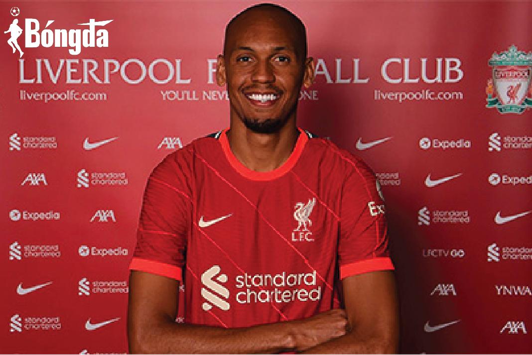 """Sau Alexander-Arnold, Liverpool tiếp tục gia hạn với """"công thần"""" Fabinho"""