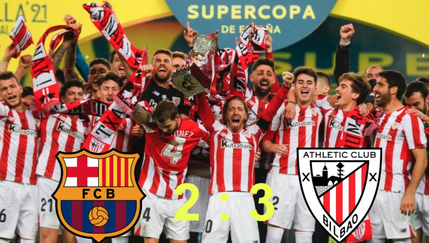 Barcelona 2-3 Athletic Club: Williams nhấn chìm Barcelona, Athletic giành cúp bạc Supercopa