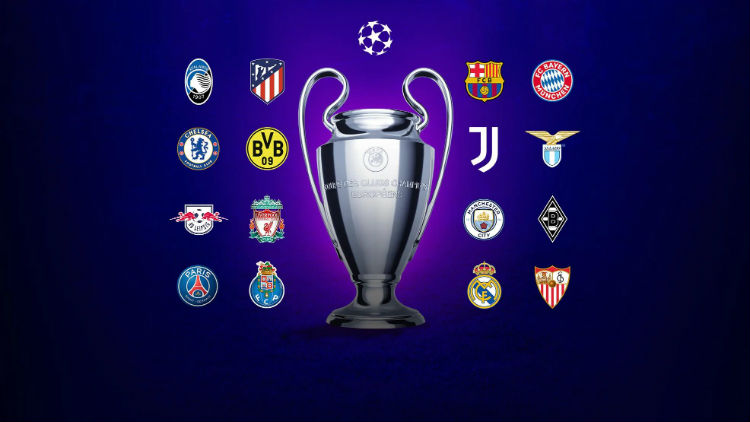 Kết quả thi đấu Cúp C1 châu Âu 2020/21 vòng 16 đội lượt về