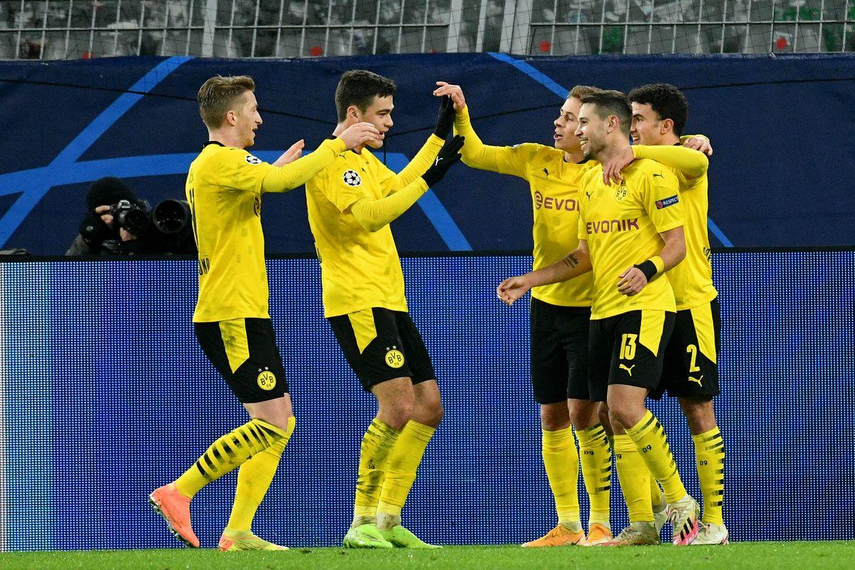 Raphael Guerreiro đưa Dortmund vượt lên dẫn trước
