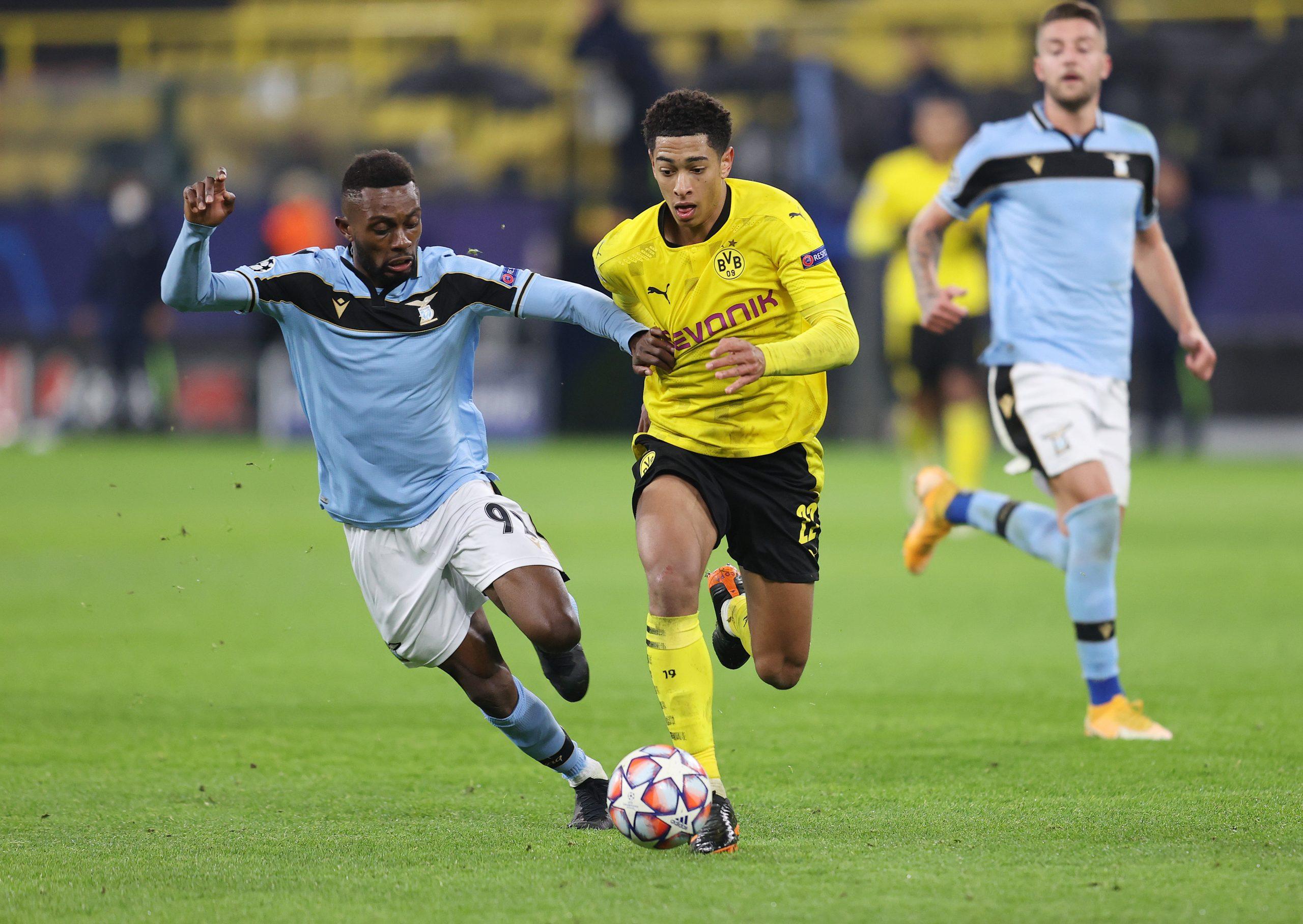 Trận đấu giữa Dortmund và Lazio kết thúc với tỷ số hoà 1-1
