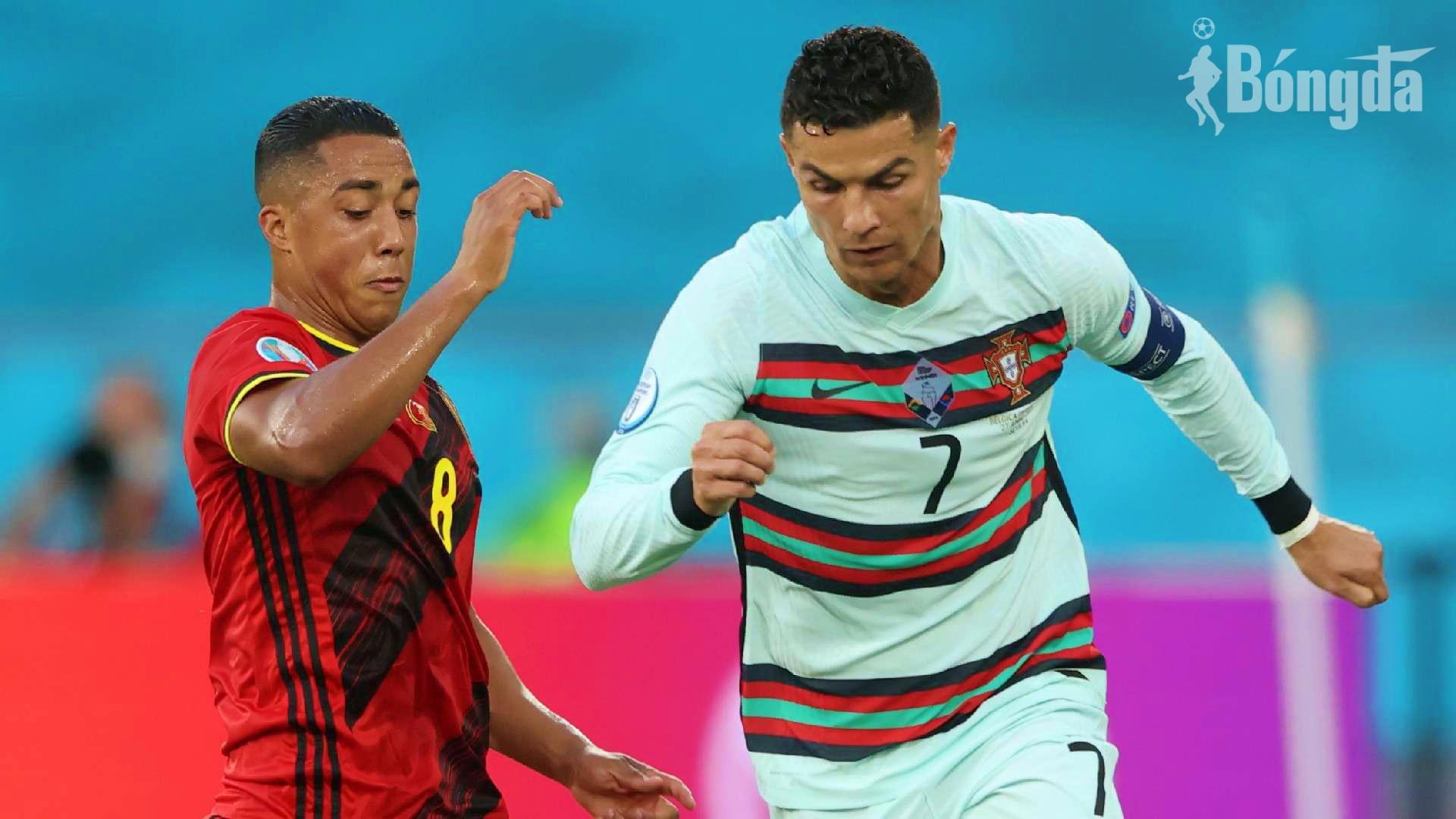 """EURO 2020: Ronaldo """"nổi điên"""" rời giải với hình ảnh xấu xí sau thất bại 0-1 trước Bỉ"""