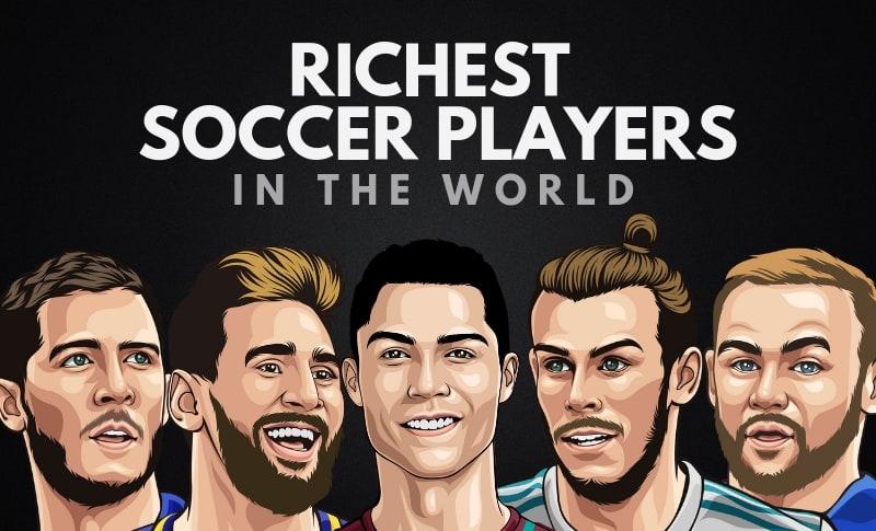 Top 10 cầu thủ giàu nhất thế giới 2021: Siêu bom tấn Messi và Ronaldo là 2 trong số 3 cầu thủ giàu nhất thế giới