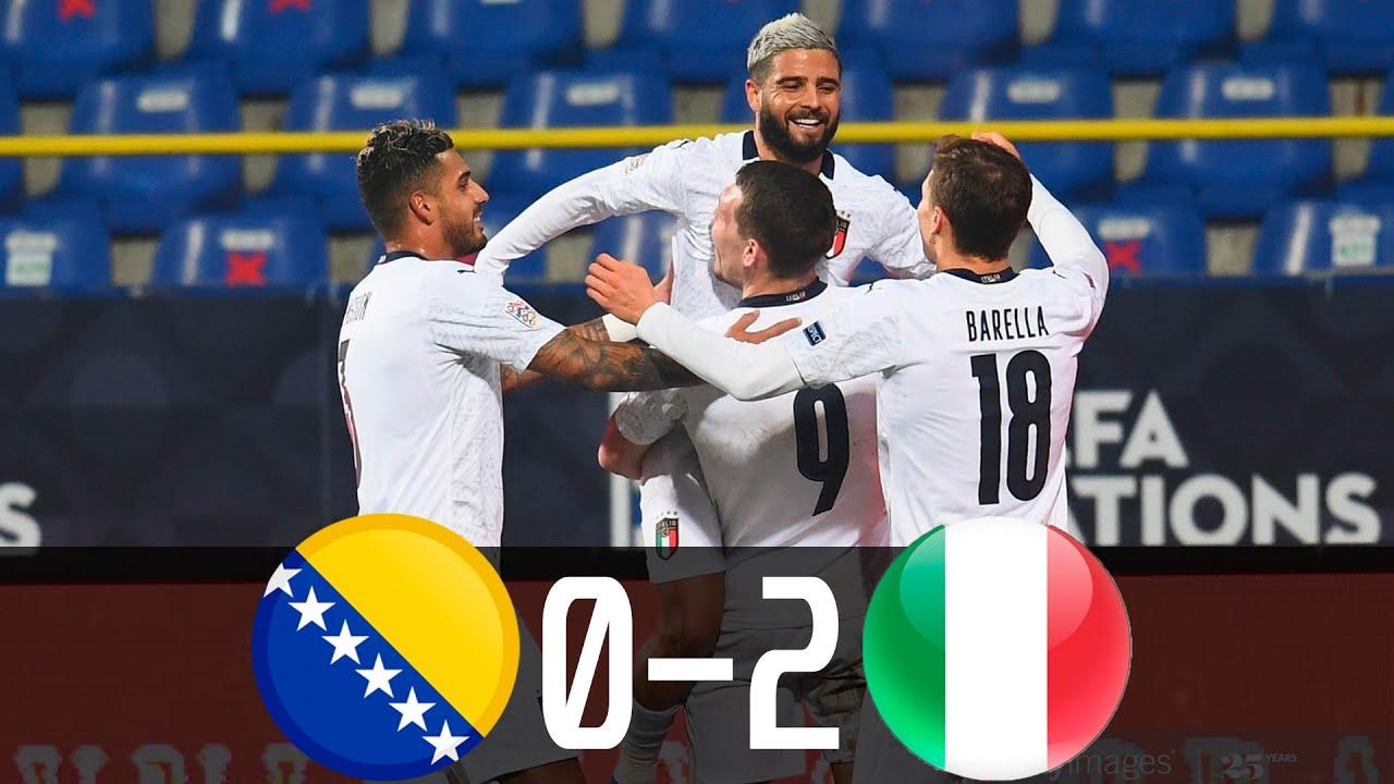 Bosnia and Herzegovina 0-2 Italia: Azzurri giành vé vào bán kết