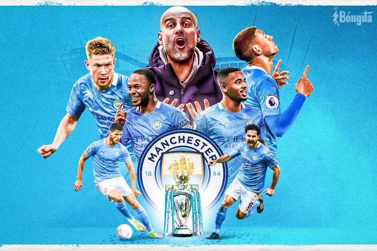 Không thể vô địch Champions League, Man City vẫn có một mùa giải mỹ mãn