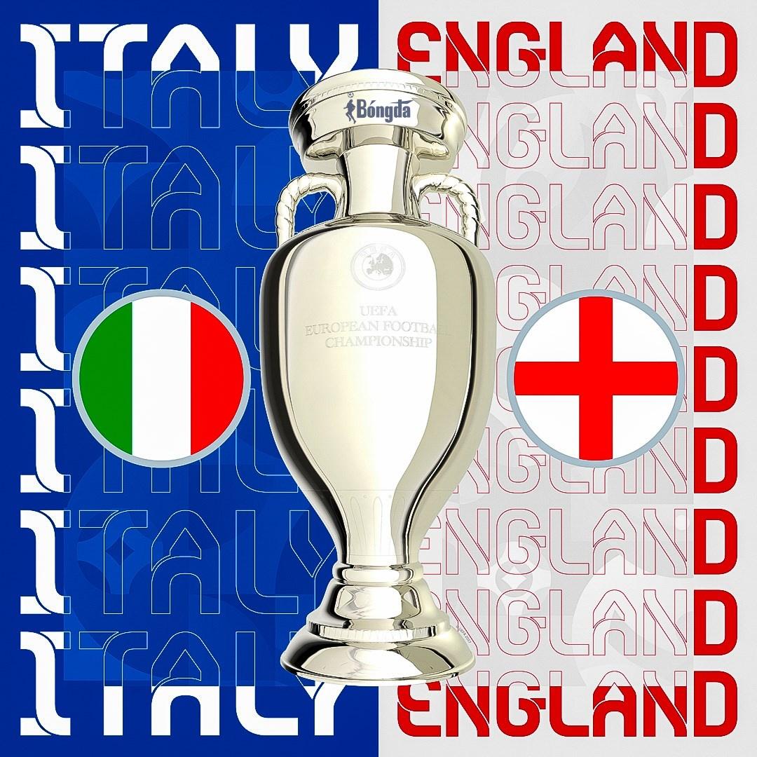 Chung kết EURO 2020: Tân binh Anh đại chiến Italia gạo cội tại Wembley