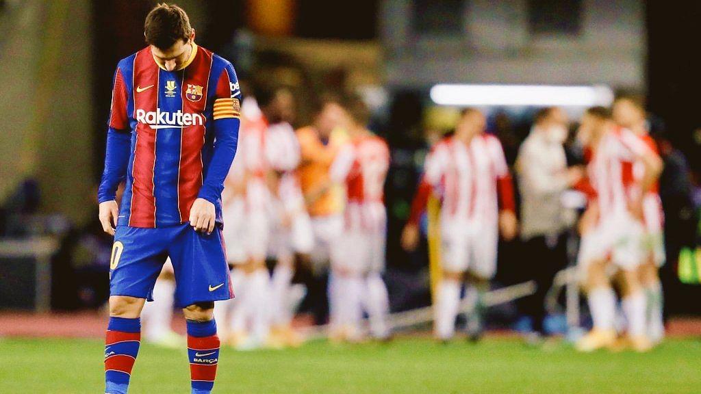 Barca mất cúp bạc Siêu cúp bóng đá TBN vào tay CLB Athletic