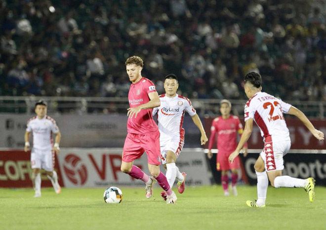 Trận Derby hoà nhạt nhoà của CLB TP.HCM và Sài Gòn FC