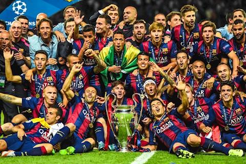 """Top CLB giàu nhất tại Champions League: Barcelona luôn nằm trong top """"đại gia thế giới"""""""