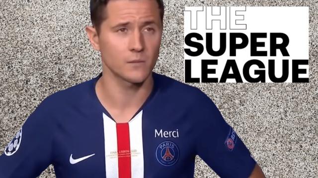 """Ander Herrera phản đối và chỉ trích European Super League là """"người giàu ăn cắp"""""""