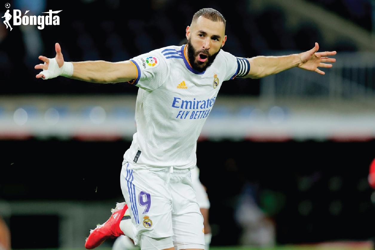 Thăng hoa cùng Real Madrid, Benzema dẫn đầu cuộc đua Chiếc giày Vàng châu Âu
