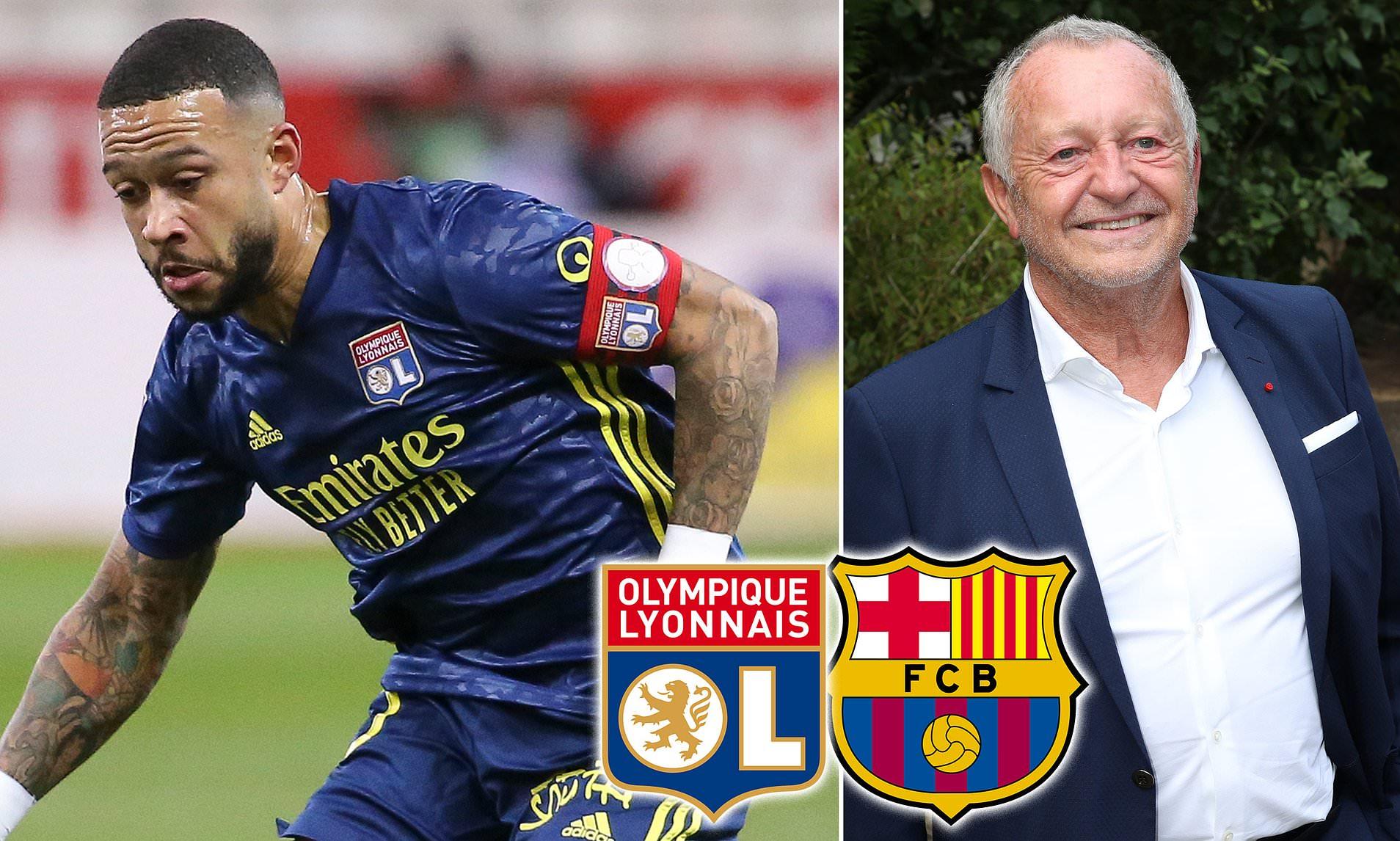 Depay sẽ không đến Barca vì lời đề nghị của Lyon