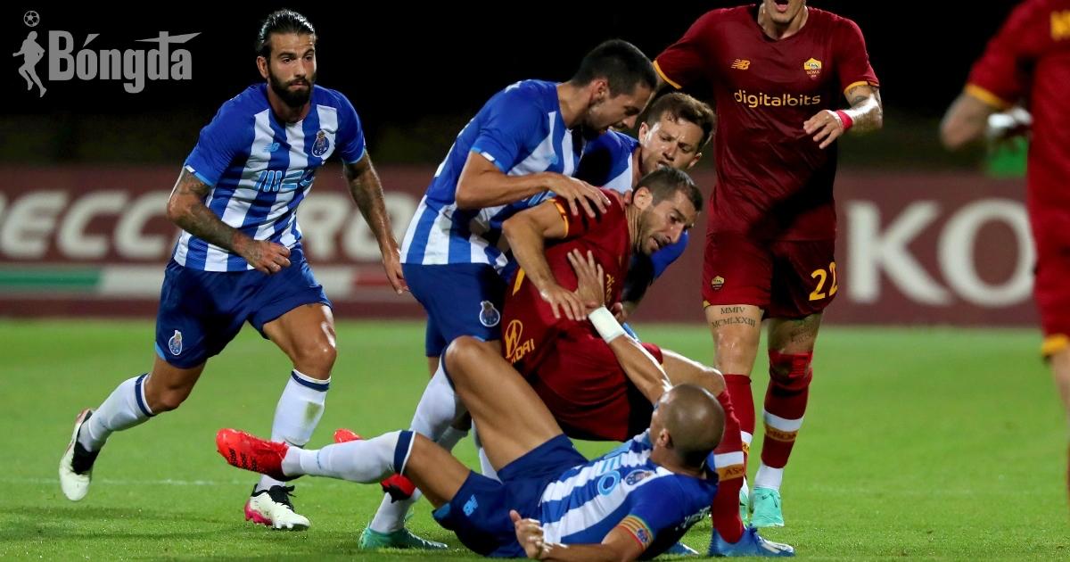 Pepe chơi bẩn, suýt bị tẩn trong trận đấu giữa Porto và AS Roma
