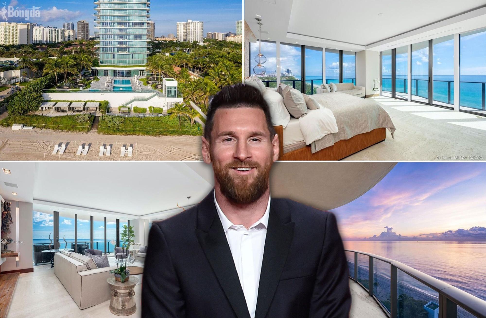 Nhà Messi ở Miami hoành tráng như thế nào khi về dưỡng già ở MLS?