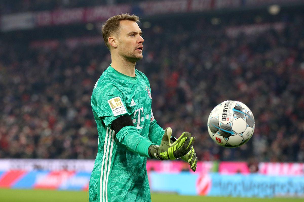 Màn trình diễn xuất sắc của siêu thủ môn Manuel Neuer trong chiến thắng của Bayern Munich trước Schalke