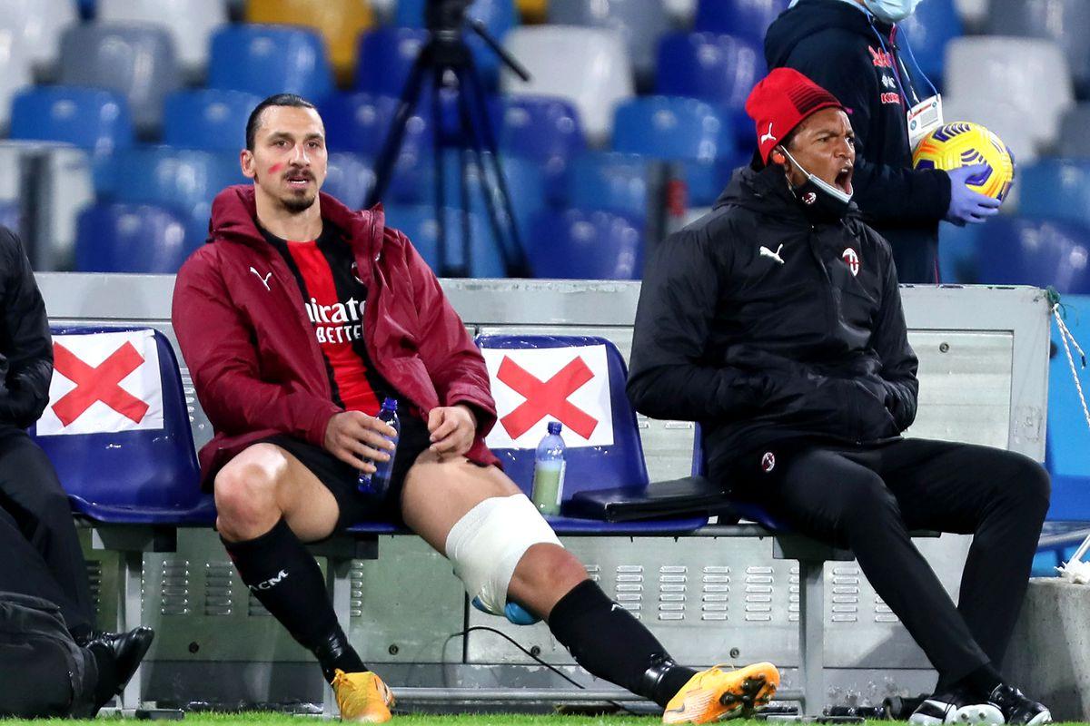 Siêu sao AC Milan Zlatan Ibrahimovic nghỉ thi đấu 2 tuần