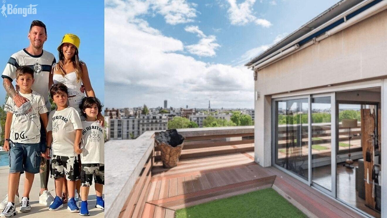 Thay vì mua, Messi quyết thuê căn hộ đắt đỏ ở Pháp