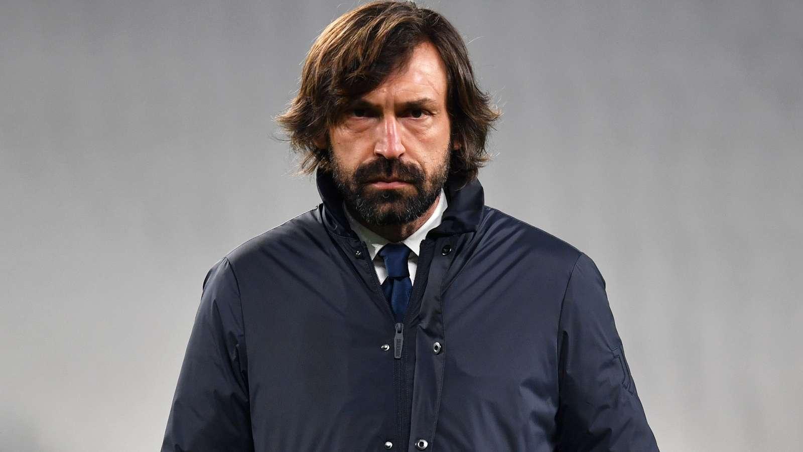 Pirlo không sợ bị sa thải sau khi Juventus bị loại khỏi Champions League
