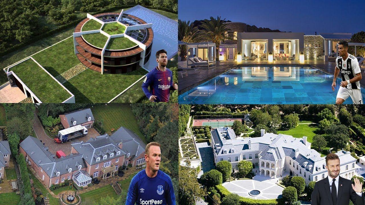 """Top 7 cầu thủ Champions League sở hữu những ngôi nhà đắt giá nhất (Phần cuối): Khó ai có thể vượt qua độ """"chịu chơi"""" của Rooney và Beckham"""