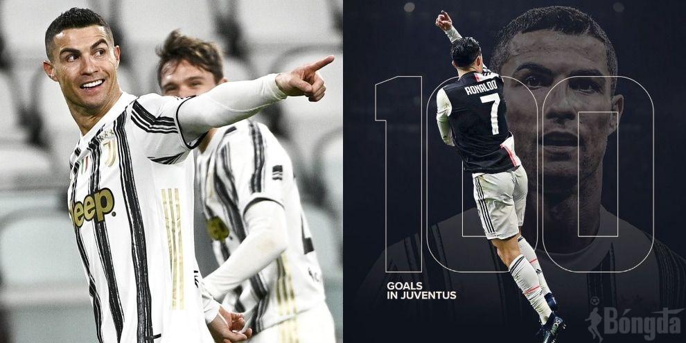 Điểm nhấn Serie A 20/21: Ronaldo đạt 100 bàn thắng cho Juventus