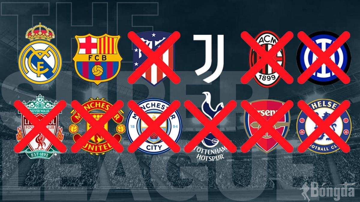 """UEFA """"thua cuộc"""" trước sự ngoan cố của Real Madrid, Barca và Juventus"""