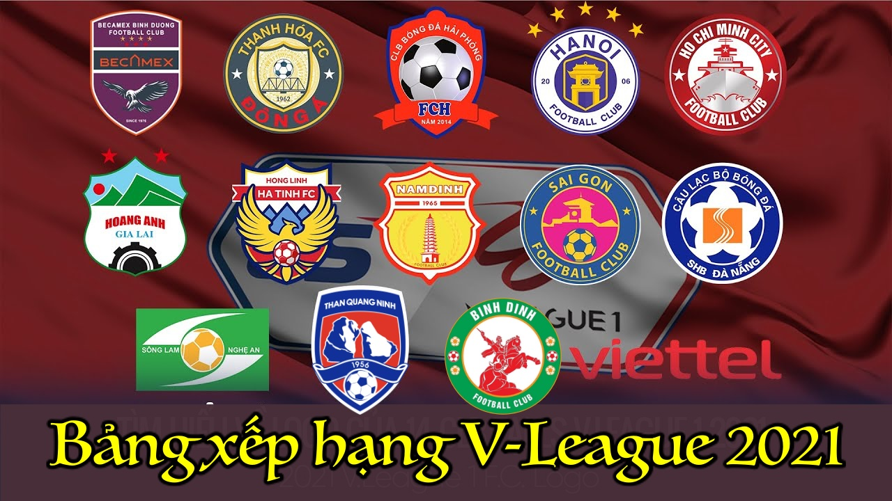 Bảng Xếp Hạng V-League 2021 Sau Vòng 2